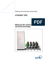 Hyamat SPD - Manual de Instalación