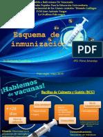 Esquema de Inmunizacion