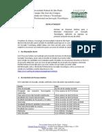 Edital de Mestrado UNIFEP - Inovação