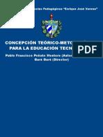 Concepcio n Teo Rico Metodolo Gica Para La Educacio n Tecnolo Gica