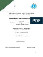 07 07 ISSS 2010 Draft Agenda PDF