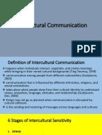 Lesson 4 - Intercultural Communication