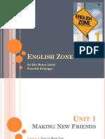 English Zone 1 Unit 1