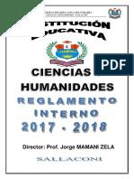 Reglamento Interno 2016, Formato Libro4