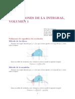CAPITULO 5 Aplicaciones de La Integral, Volúmen 1