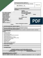 Informe de Evaluación Psicopedagógica y Diac 2017