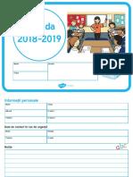 2018 2019 Agenda Si Calendar