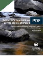 California's Next Million Acre Feet