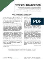 June 2010 Interfaith Connection Newsletter, Interfaith Works