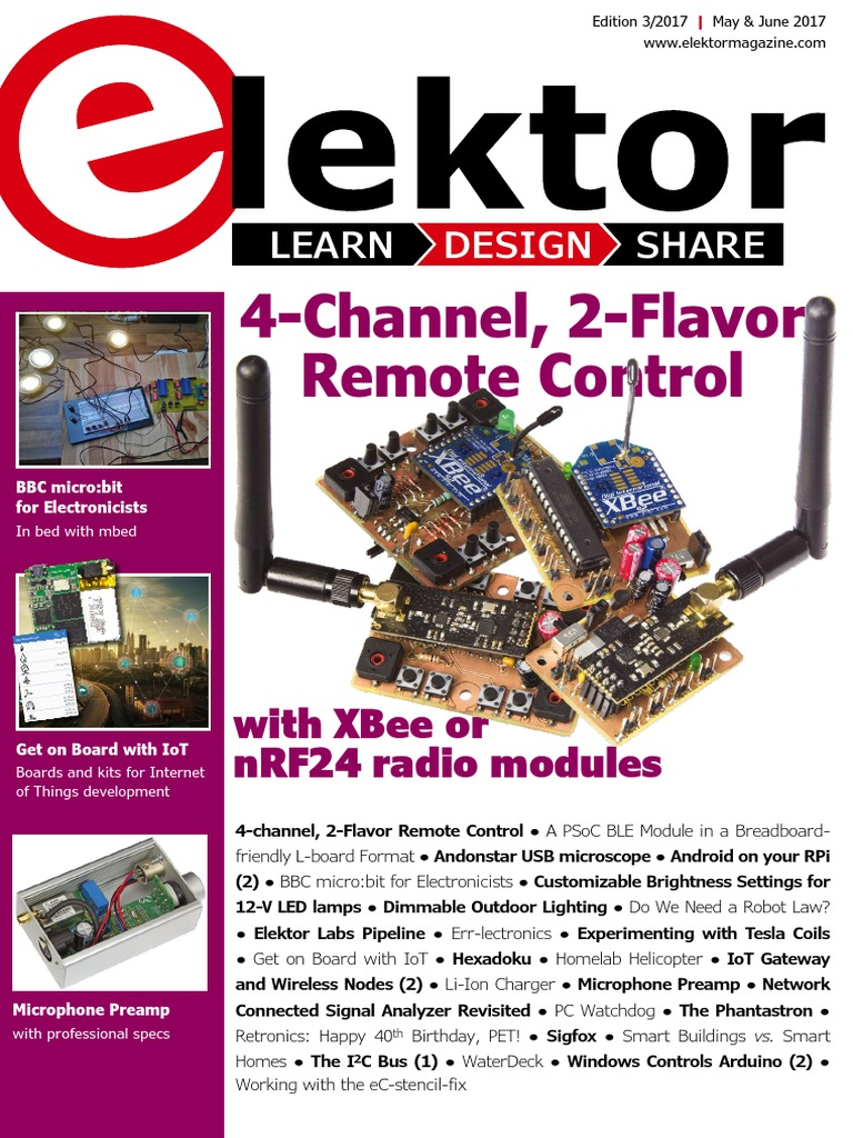 03 Elektor Usa May June 2017 Internet Of Things Usb Fm Wireless Microphone By Bc557