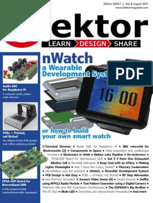 04  Elektor USA - July, August 2017 | Printed Circuit Board