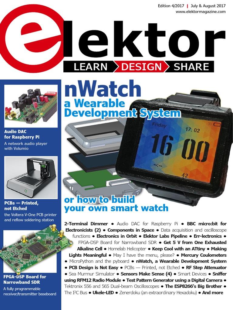 04 Elektor Usa July August 2017 Printed Circuit Board Bluetooth Controlled Leddriver A Tutorial Part 10 Pc Control Electronics