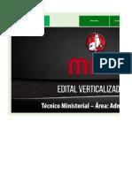 Edital Verticalizado - MPPI - Técnico Ministerial
