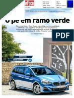 """RENAULT GRAND SCÉNIC dCi 160 FRENTE AO BMW 218d GRAN TOURER NA """"AUTO FOCO"""""""
