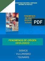 d. Fenomenos Naturales, Volcanes
