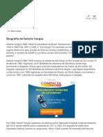 Biografia de Getúlio Vargas - EBiografia