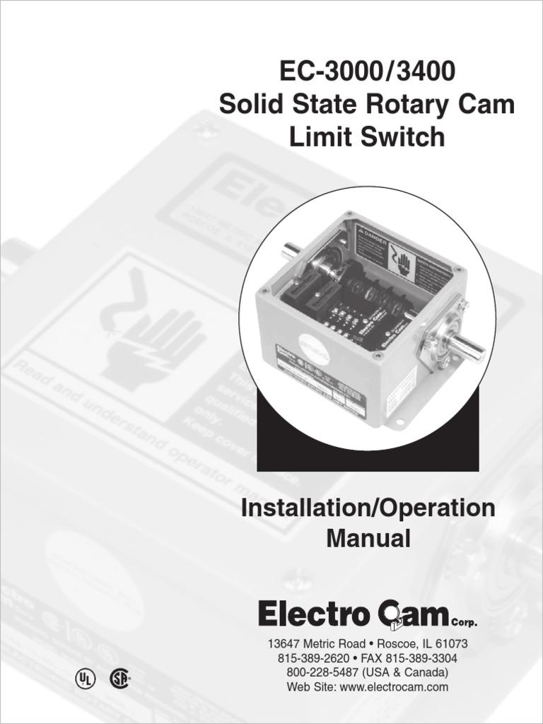 PLC Input & Output Modules Lot of 2 Electro Cam EC-OAC5A-11 I/O ...