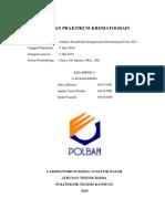 Laporan Kromatografi Gas (GC) - Kuantitatif