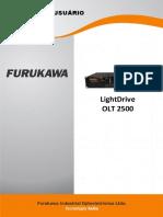 Manual LightDrive OLT2500 PT v.2