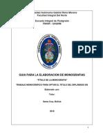 Guia Para La Elaboracion de Monografias. Educ.continua (1)