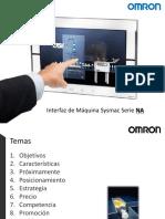 Interfaz de Máquina Sysmac Serie NA -Interna
