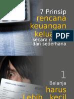 7 Prinsip Perencanaan Keuangan Keluarga