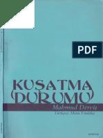 Mahmud Derviş - Kuşatma Durumu
