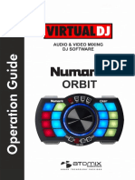 Numark Orbit - VirtualDJ 8 Operation Guide