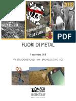 Fuori Di Metal 2018 - Somarino edition