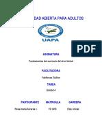 Tarea 4 Fundamentos Del Curriculo Del Nivel Inicial Rosa