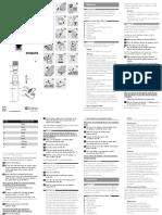 Philips Trimmer qt40194 .pdf
