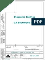 Diagrama CA 8500 - 9200 TCE