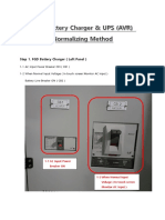 FGD Battery Charger & UPS (AVR) Normalizing Method