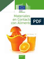 materiales contacto con alimentos