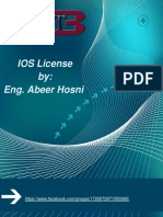 IOS License