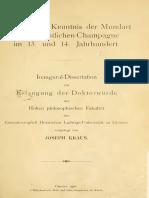 Pages From Brod-Die Mundart Der Kantone Chateau-Salins 1912