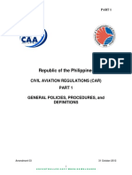 PART 1 General Policies and Procedures and Definitions v.2017