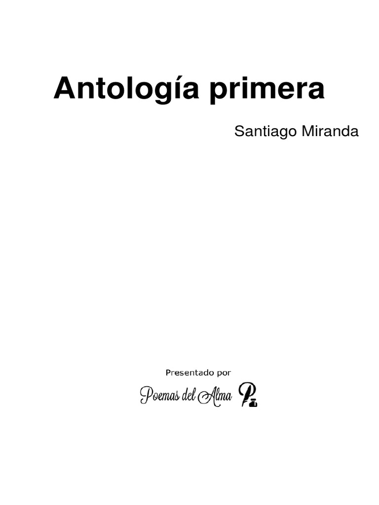 antologia MIRANDA 0609607881f5