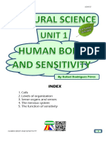 Student's Booklet - Human Body and Sensitivity