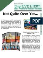 2002 Issue #9 Bird's Eye View Newsletter Washington Audubon Society