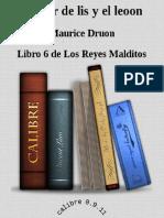 06-La flor de lis y el león - Maurice Druon