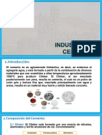 Industria y procesos del  cemento Portland