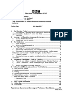 2017 Local Election Guidelines Bbc
