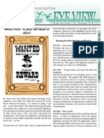 2002 Issue #4 Bird's Eye View Newsletter Washington Audubon Society