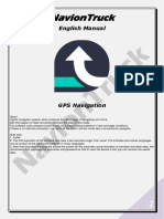 NavionTruck GPS Navigation - English