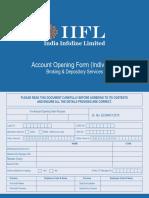 IIFL Account Opening Form Individual