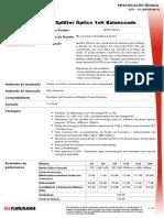 Splitter Óptico 1xN Balanceado - ESPECIFICAÇÃO TÉCNICA - 2371 - V 9 (20!05!2014) - Cod_6009-6010