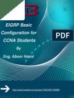 Basic EIGRP Config