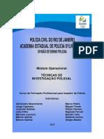 Técnicas de investigação Policial