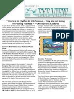 2003 Issue #3 Bird's Eye View Newsletter Washington Audubon Society
